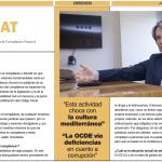 Sylvia Enseñat, Presidenta de ASCOM, en El Economista