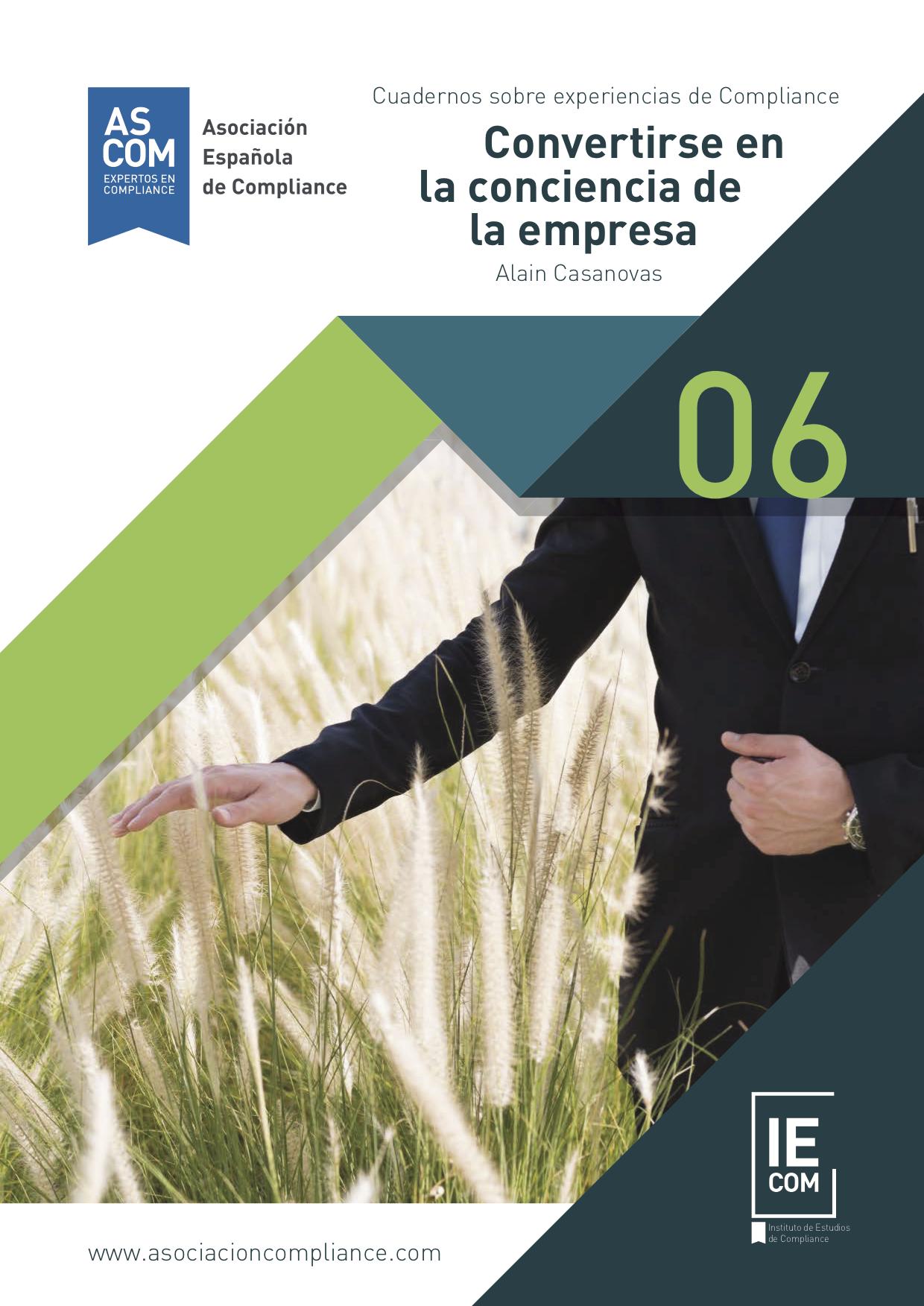 Carátula Cuadernos sobre experiencias de Compliance